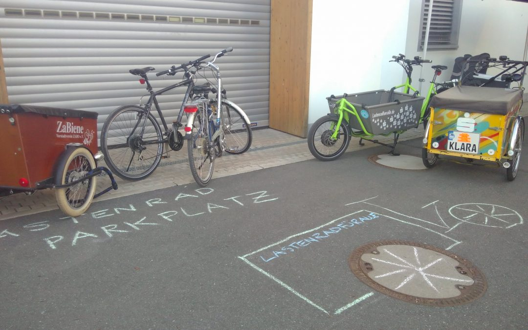 Förderung von Lastenfahrrädern in Nürnberg