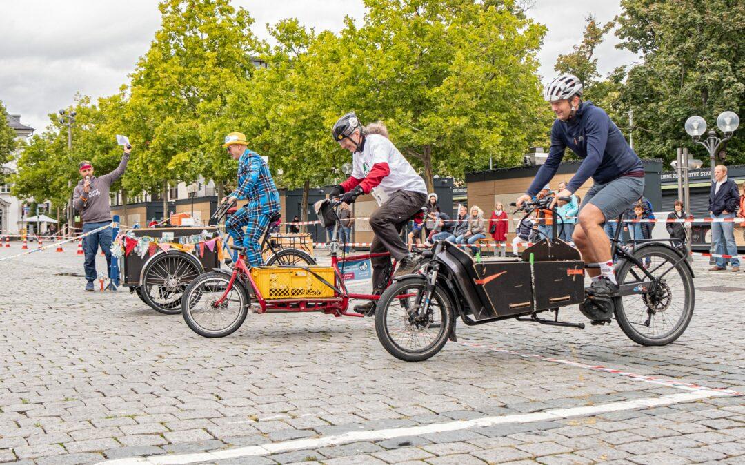 Lastenradrennen in Fürth