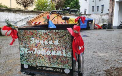 Bewegte Weihnacht der ev. Jugend und LastenradFürAlle