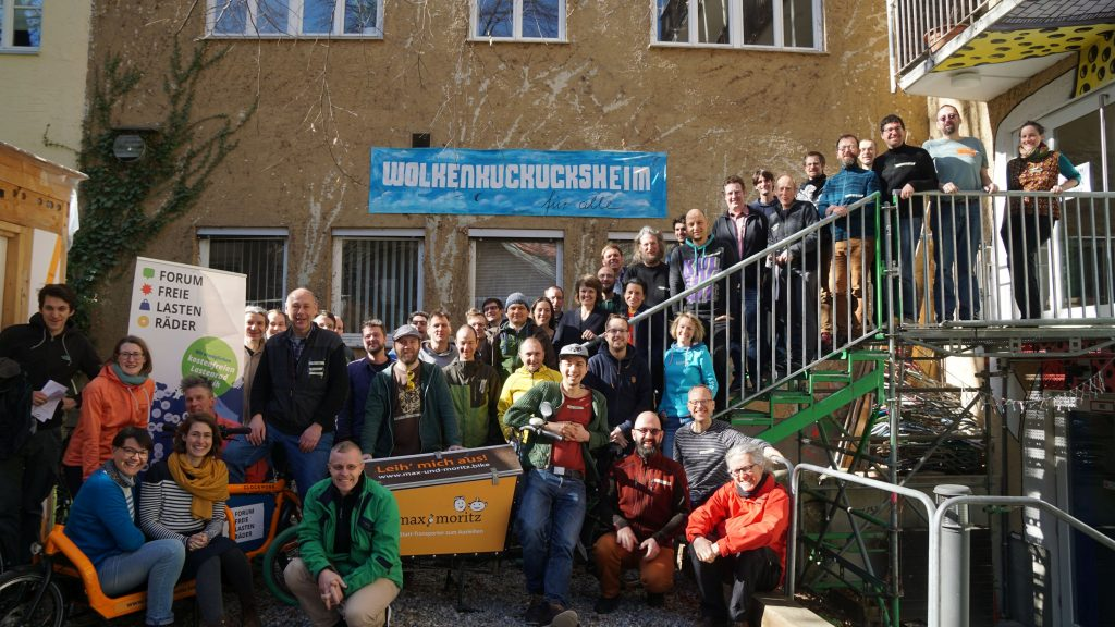 Forum Freie Lastenräder 2019 in Augsburg