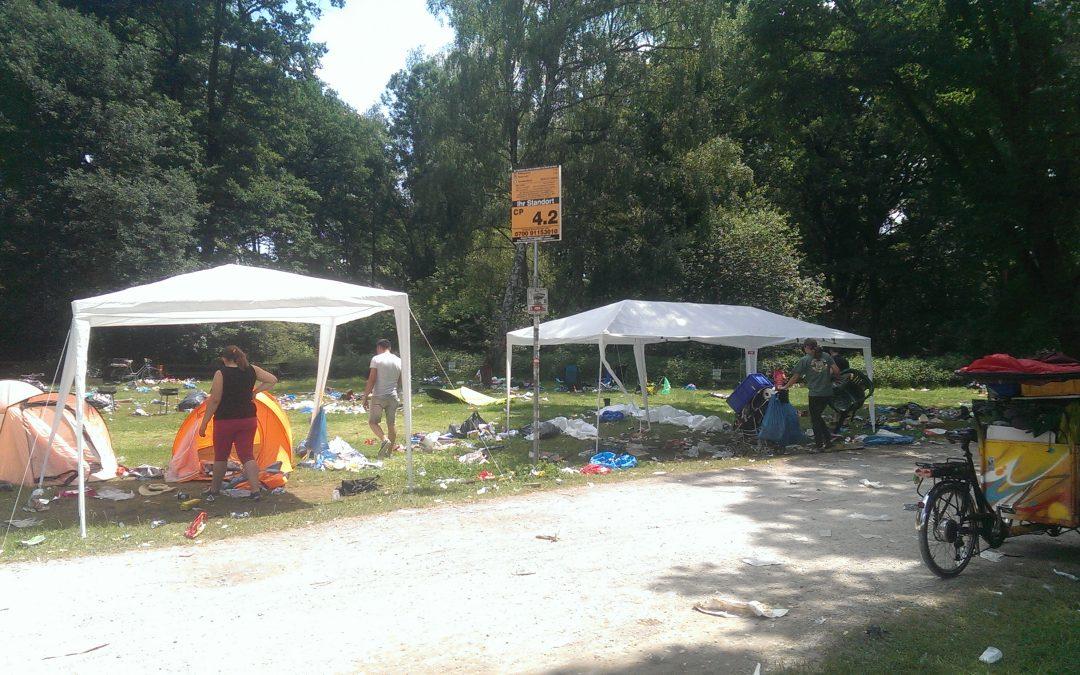 KLARA räumt auf Rock im Park auf