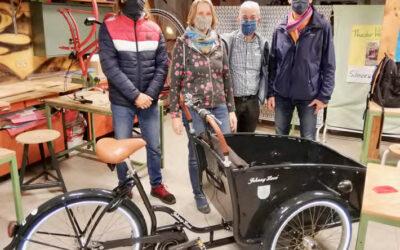 Lastenrad »LaRa« des Bürgervereins kostenlos ausleihen