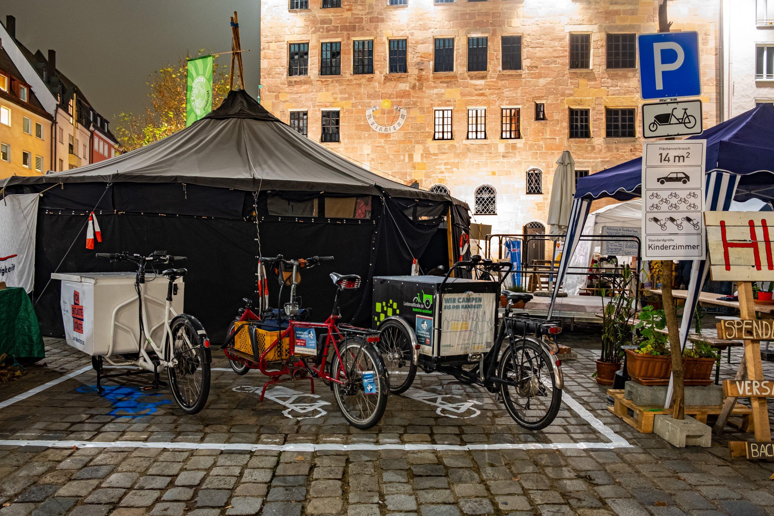 Lastenradparkplatz