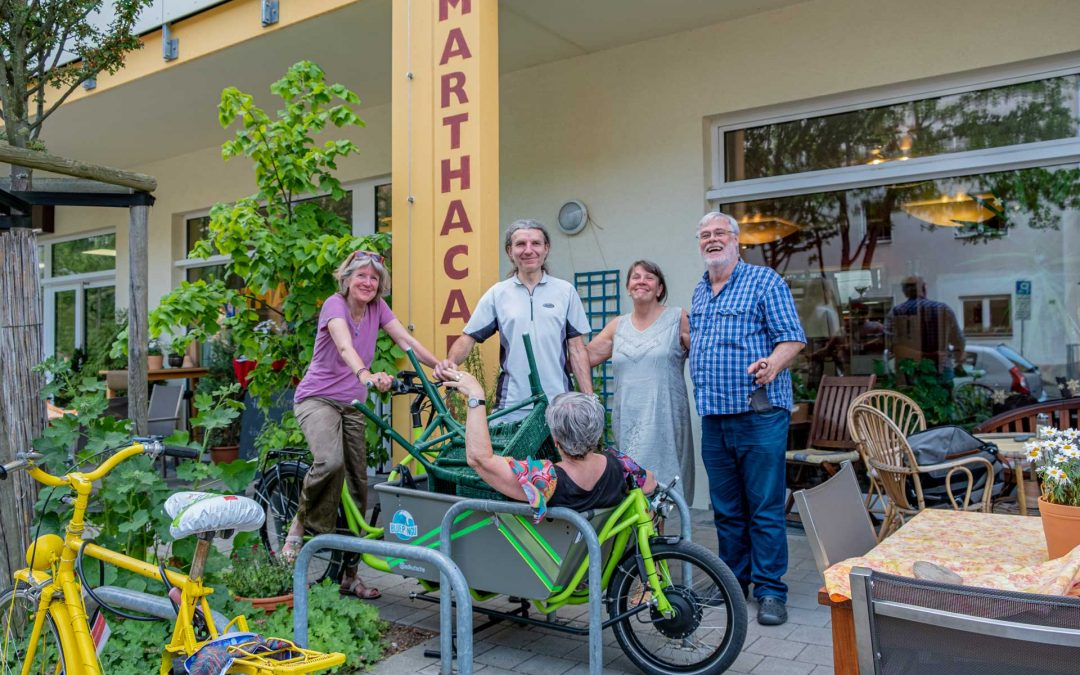 Lastenradstation MarthaCafé: Konrad heißt nun Martha