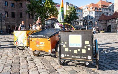 Sattelfest und Lust auf Last – Cargo-Bike-Boom in Nürnberg