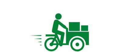 Fahren mit dem Lastenrad